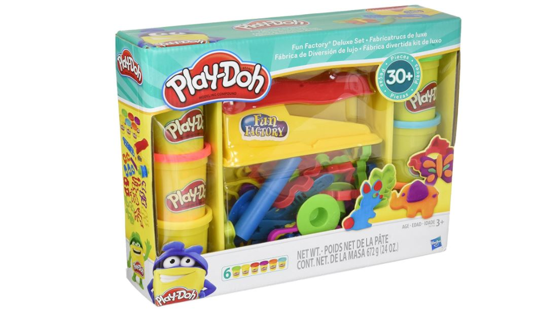 Play Doh Toy Fun Factory Deluxe Playset 12 99 Retail 21 99 Stl Mommy