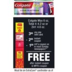 FREE Colgate Total Toothpaste at CVS