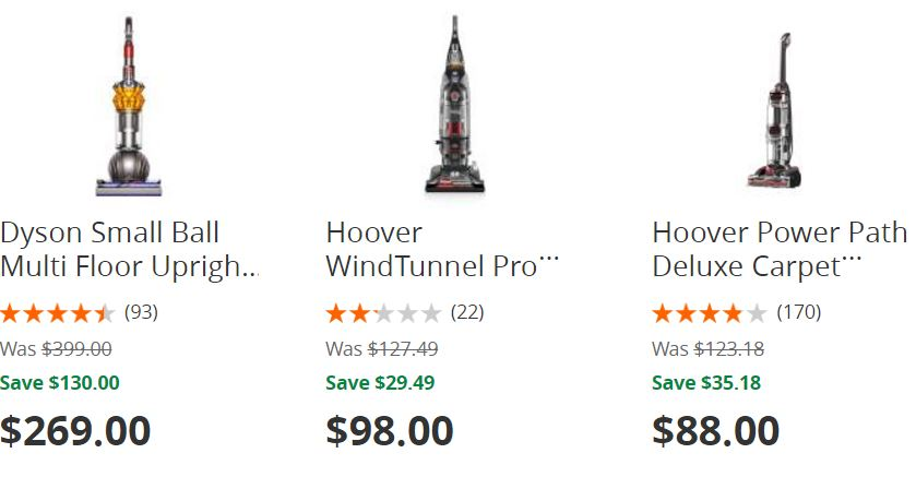 Home Depot Up To 35 Off Select Dyson And Hoover Vacuums