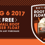 National Root Beer Float Day ~ A&W Freebie & Red Robin Bottomless Offer
