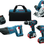 Amazon – Bosch CLPK420-181 18V 4-Tool Combo Kit Just $285 Shipped (Retail $549)