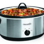 Crock-Pot 7-Quart Oval Manual Slow Cooker, Stainless Steel $23.49