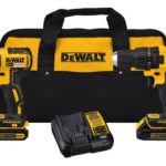 DEWALT 20-Volt MAX Lithium-Ion Cordless Brushless Drill/Driver and Impact Combo Kit $149 (Retail $222.98)