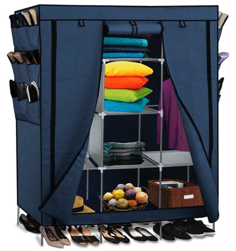 Oxgord Portable Storage Organizer Wardrobe Closet 29 99