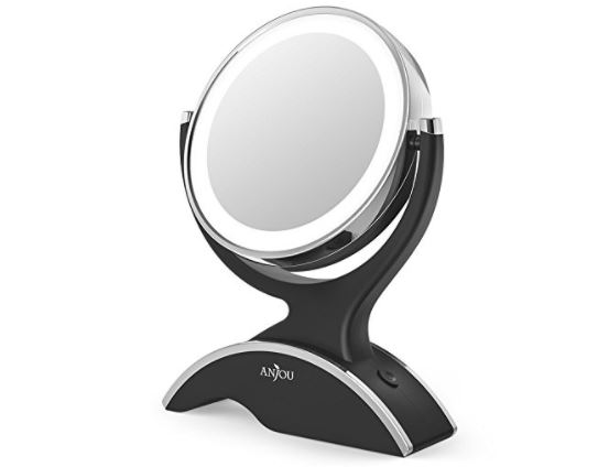 Makeup Mirror Led Lighted With 1x 7x Magnification 18