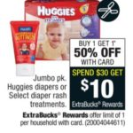 CVS ~ Huggies Jumbo Pack Diapers $4.50 Each