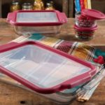 The Pioneer Woman Flea Market 8-Piece Glass Bake and Store Decorated Set $17.88 (Retail $29.64)