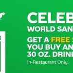 Subway – Free Sub With Your Sub & Drink Purchase November 3rd