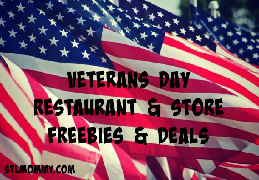 photo about O'charley's $5 Off $20 Printable Coupon called Veterans Working day Cafe Shop Freebies Promotions - STL Mommy