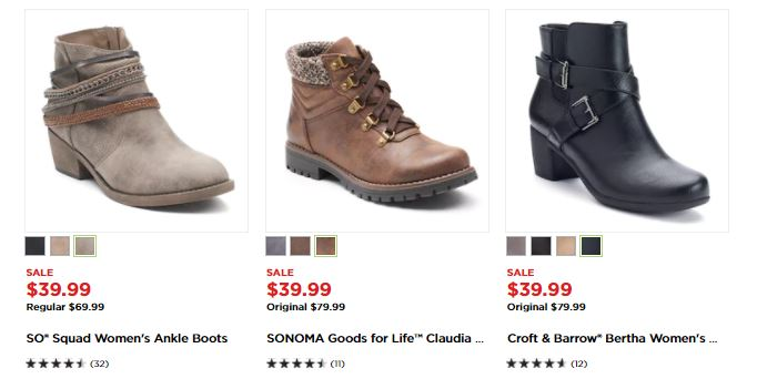 75aef82cfbc Kohl's - HOT Deals On Women's Boots With Stackable Codes + Kohl's ...