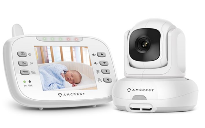 amcrest video baby monitor stl mommy. Black Bedroom Furniture Sets. Home Design Ideas