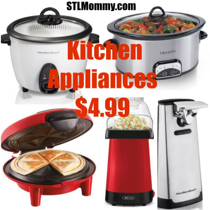 *HOT* Hamilton Beach & Bella Kitchen Appliances $4.99
