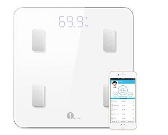 1byone Bluetooth Body Fat Scale App Smart Wireless Digital
