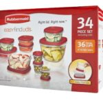 Rubbermaid Food Storage Container 34-Piece Set $6.65 Shipped (Retail $24.99)