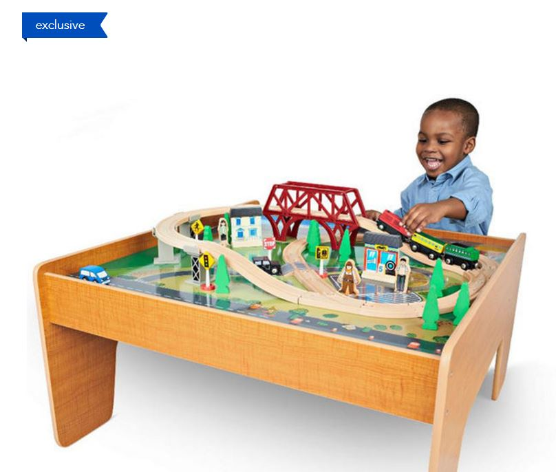 Imaginarium Train Set with Table - 55-Piece $39.99 Shipped (Retail ...