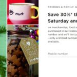 Starbucks – 30% Off Friends & Family Coupon + Ways To Save & Earn In December
