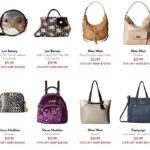 6PM Clearance Closet ~ Nine West Handbags Starting At $17.99 + More