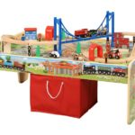50-Piece Train Set with 2-in-1 Activity Table $37 Shipped