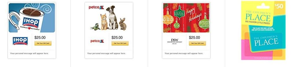 Amazon Gift Card Deals – StubHub, IHOP, Petco, Starbucks & More