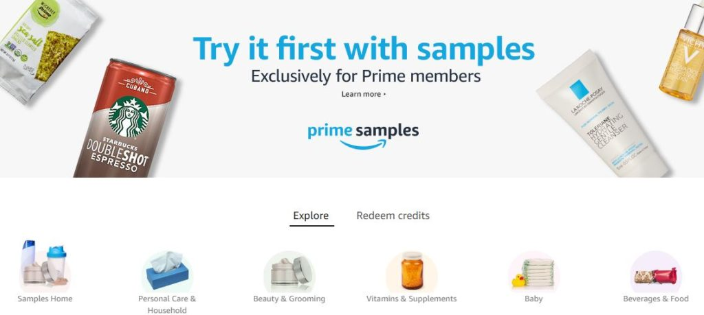 Try products for amazon
