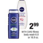 CVS – Nivea Body Wash As Low As $0.99