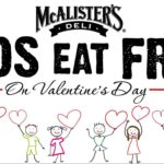 McAlister's Deli – Kids Eat FREE on Valentine's Day