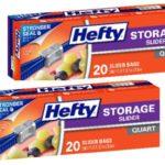 CVS – Hefty Slider Bags $1.25 Each