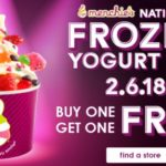 National Frozen Yogurt Day February 6th – Freebies & Deals