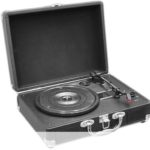 Pyle Retro Belt-Drive Turntable with USB-to-PC Connection and Rechargeable Battery $44.99 (Retail $88.99)