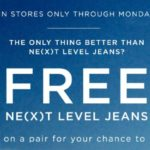 American Eagle – Try On A Pair Of NE(X)T Level Jeans For Your Chance To Win Them FREE
