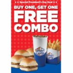 White Castle – Buy One Get One Free Combo Coupon