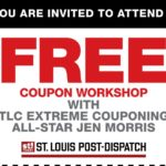 FREE Couponing Event featuring TLC's Coupon All-Star Jen Morris