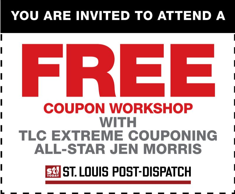 free couponing event featuring tlc's coupon all-star jen morris ...