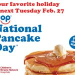 IHOP – FREE Short Stack of Original Buttermilk Pancakes February 27th