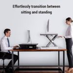 FlexiSpot Stand up Desk – Adjustable Standing Desk Riser with Removable Keyboard Tray $244.99 (Retail $349.99)