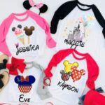 Personalized Character Raglans for Kids $13.99 (Retail $28)
