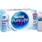 Target – Nestle Pure Life Water, 28 Pack $2.50