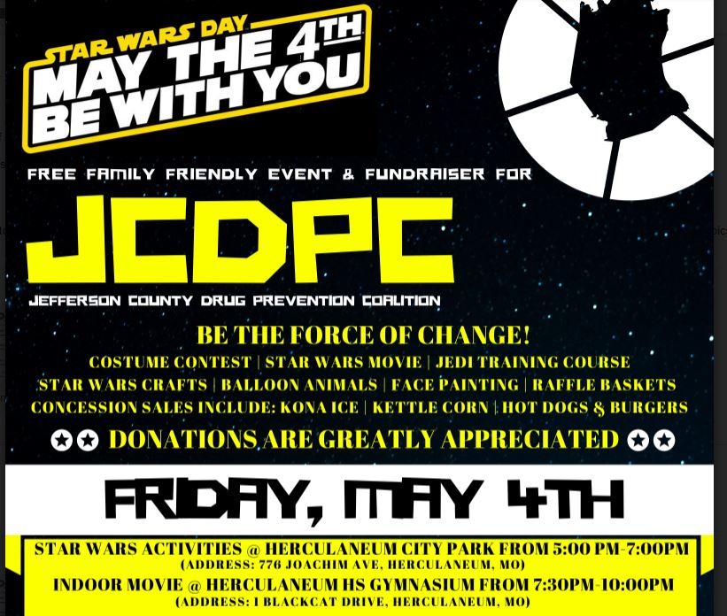 Jefferson County Drug Prevention Coalition FREE Star Wars