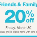 Walgreens Friends & Family Event – Save 20% On Select Items March 30th