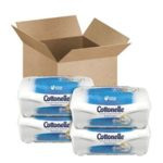 Cottonelle Fresh Care Flushable Cleansing Cloths Refillable Tub 42 Count (Pack of 4) $6.22