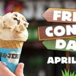 Ben & Jerry's FREE Cone Day Tuesday April 10th #FreeConeDay