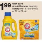 Walgreens – Arm & Hammer Laundry Detergent $1.99 (No Coupons Needed)