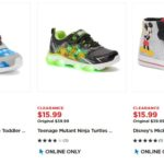 Kohl's – Kids Character Shoes As Low As $11 Shipped