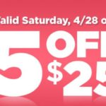 Dollar General – Save $5 On Your $25 Purchase April 28th