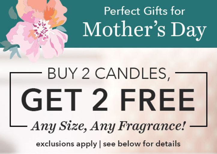 0578ea344d65 Yankee Candle – Buy 2 Get 2 FREE Candles + Mother s Day Tote Gift Set Offer