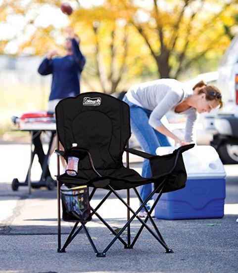 Coleman Oversized Quad Chair With Cooler Pouch 16 50