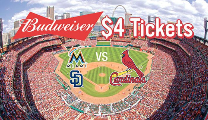 coupon codes for st louis cardinals tickets