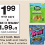 Walgreens – FREE Trolli, Black Forest or Now and Later Candy