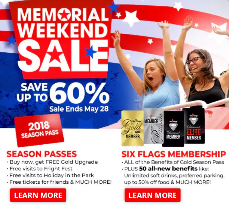Six Flags St  Louis Ticket Discount ~ Prices Up To 60% Off - STL Mommy