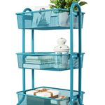 DESIGNA 3-Tier Metal Mesh Rolling Storage Cart with Utility Handle $33.29 Shipped (Retail $44.99)